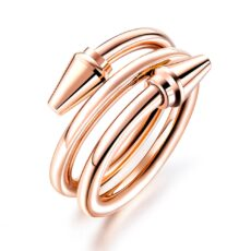 Twisted Ring - Rose Gold